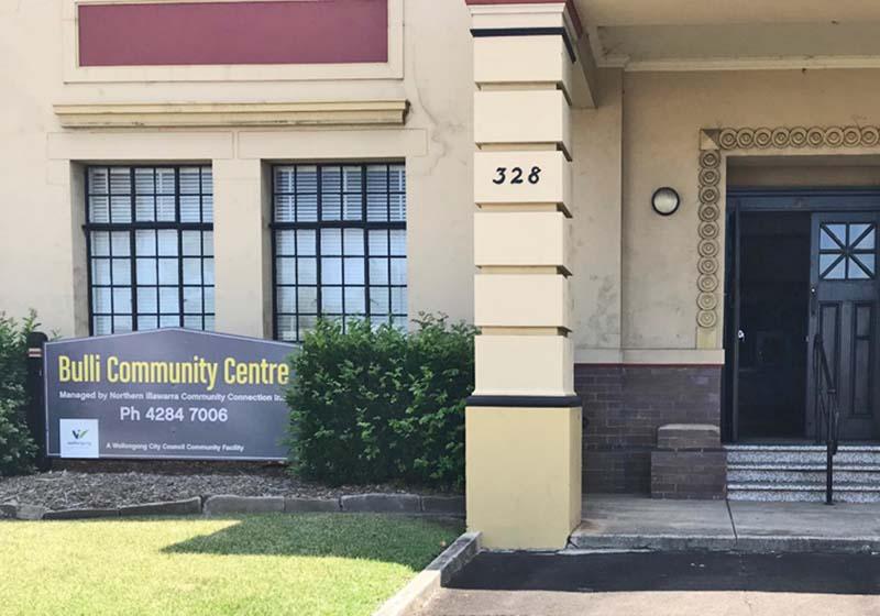 Bulli Community Centre Venue hire for events, classes, meetings.